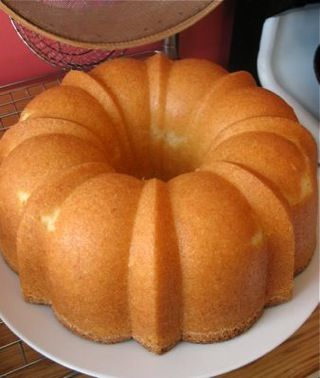My Momma's Pound Cake - This cake is awesome in the summer with some fresh strawberries and whipped cream, or equally wonderful in the winter with a hot mug of coffee and a drizzle of chocolate sauce.