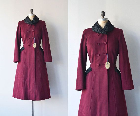 Silent Sentinel coat  1930s princess coat  vintage by DearGolden