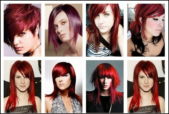 Red hair color -How To Use Hair Color Chart - Shades Of Red Hair To Desire