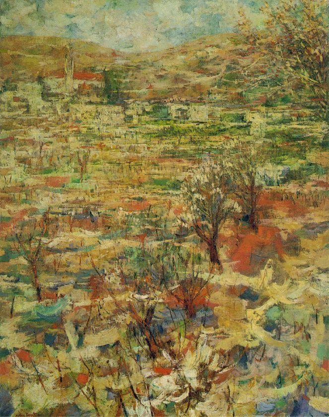 'Ein Karem', 1944 - Mordecai Ardon (1896 -1992)