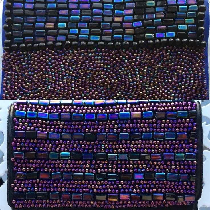 Oil spill cases! #beaddiscreet #pillcase #pillholder #birthcontrol #birthcontrolcase #beads #beadedcase #case #handmade #handbeaded #metallic #metalliccase #oilspill #oilspillcase #art #bright #etsy #designer #prettycase #colorful #iridescent #bright