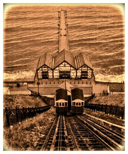 Saltburn Cliff Rail lift