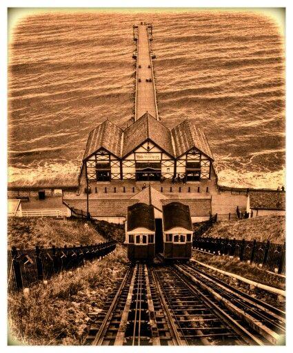 Saltburn Cliff Rail lift