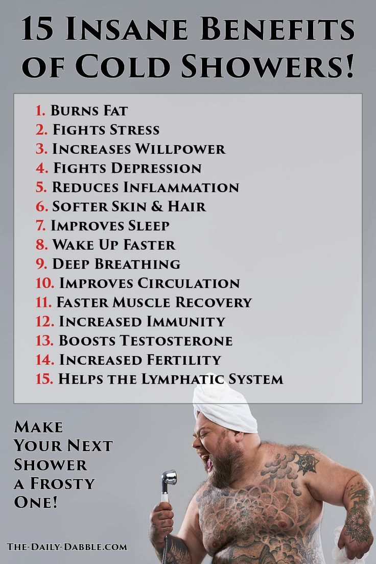 15 Insane Benefits Of Cold Showers In 2020 Benefits Of Cold