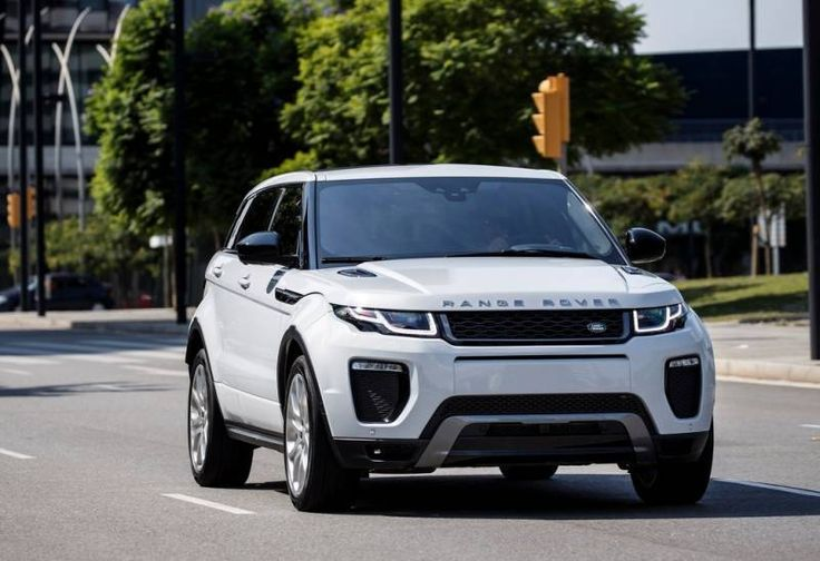 2017 Land Rover Range Rover Evoque front view, exterior, headlights