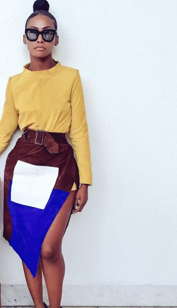 Dawn Richard- Love this edgy fashion forward look!