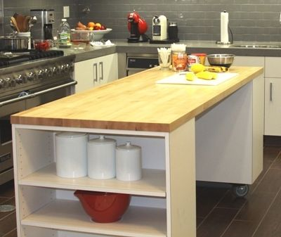 17 Best Images About Rolling Kitchen Islands On Pinterest