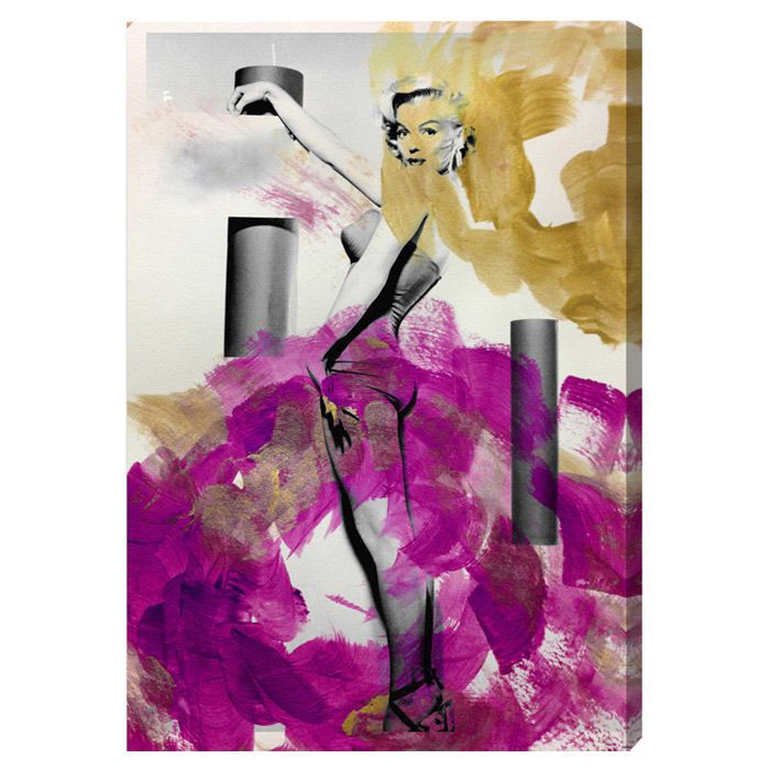 Stand up! Graphic Art on Canvas