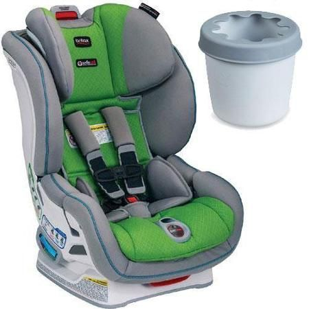 Britax - Boulevard ClickTight Convertible Car Seat with Cup Holder - Splash