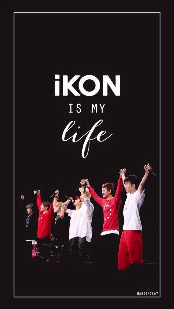 iKON wallpaper Set : iKON is MY LIFE Cr. Hanbinslay