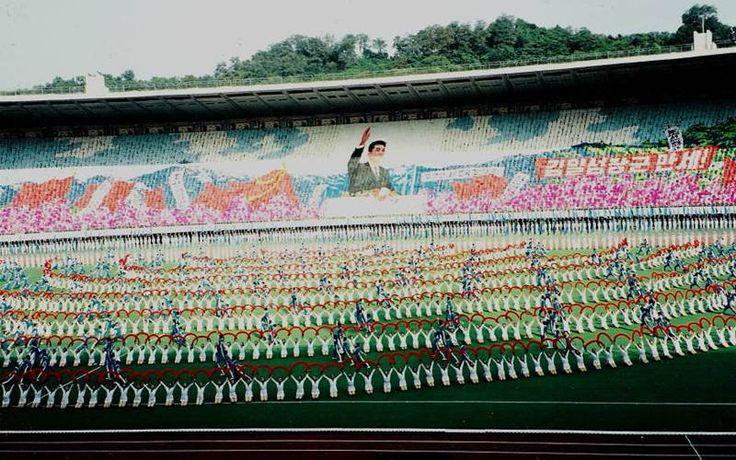 Mass Games 1998 Outdoors