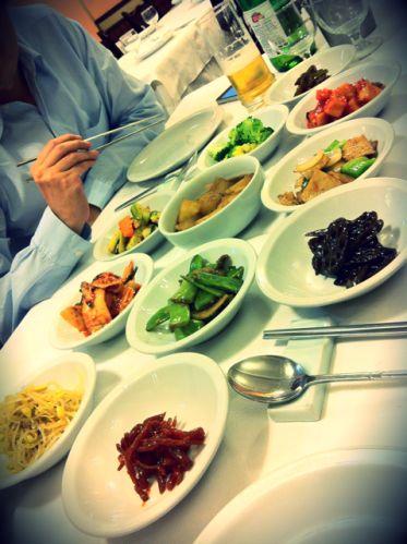 Bi Won, comida coreana