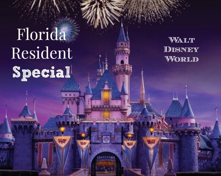 Disney World Florida Resident Special *HOT*