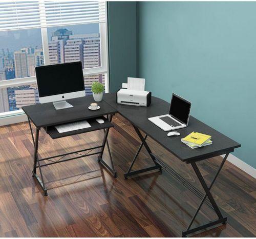 Schreibtisch Computertisch PC Tisch Bürotisch Eckschreibtisch Winkelschreibtischsparen25.com , sparen25.de , sparen25.info