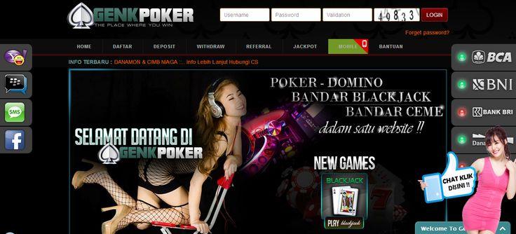 GENKPOKER – Agen Poker Online, DominoQQ Terpercaya