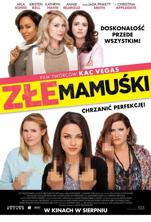 Mila Kunis, Kathryn Hahn i Kristen Bell w jednym filmie? To może oznaczać tylko jedno – ostrą jazdę bez trzymanki! Zwłaszcza, że produkcja, w której występują, to komedia. I to nie byle jaka, bo opowiadająca o perypetiach trzech matek.