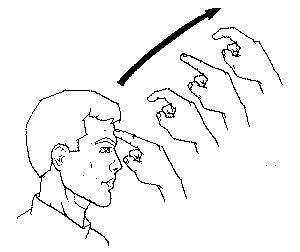 """dream"" American Sign Language (ASL)"