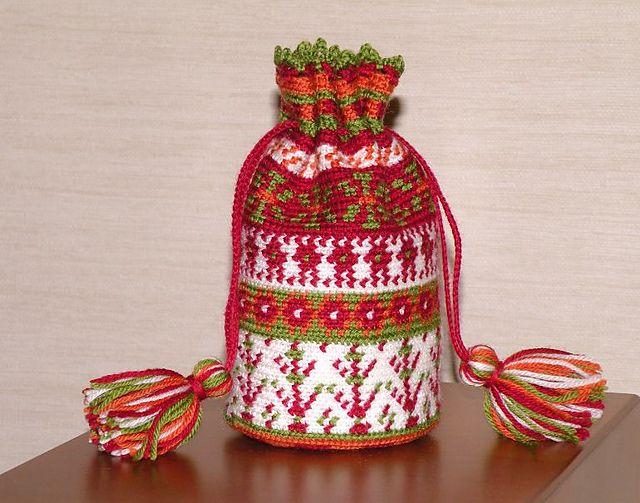 Tapestry Crochet Drawstring Bag Pattern : 1000+ images about Mochila haken on Pinterest Loom ...