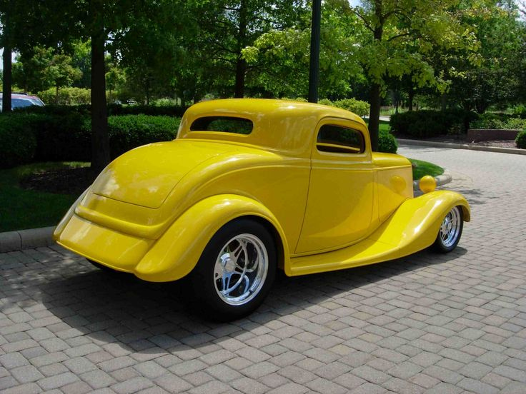 Street Rods | 1933 ford coupe sold inventory street rods Looks like the car from American Graffiti