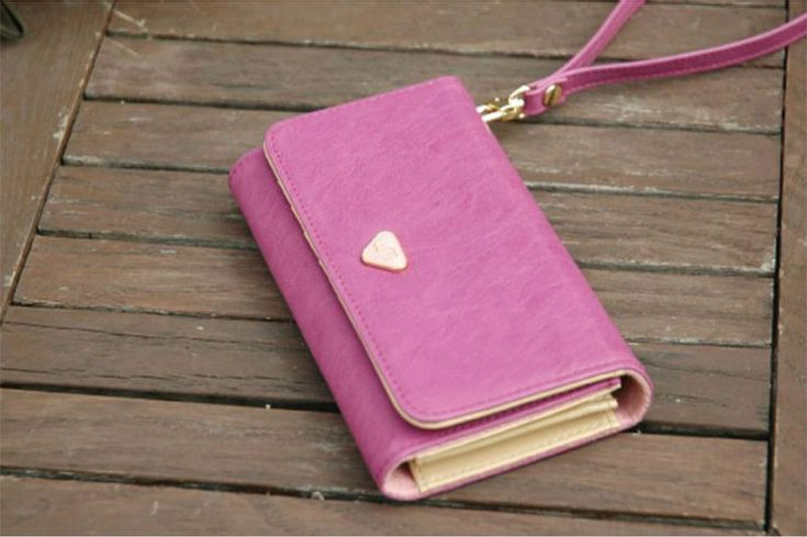 Fashion Korean Multifunctional Envelope Wallet Purse Phone Bags Case For iphone 4 4S 5 s2 s3 s4