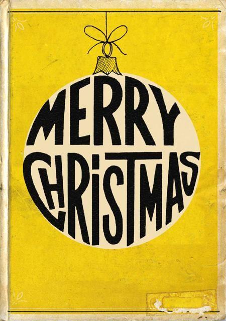 Merry Christmas vintage card