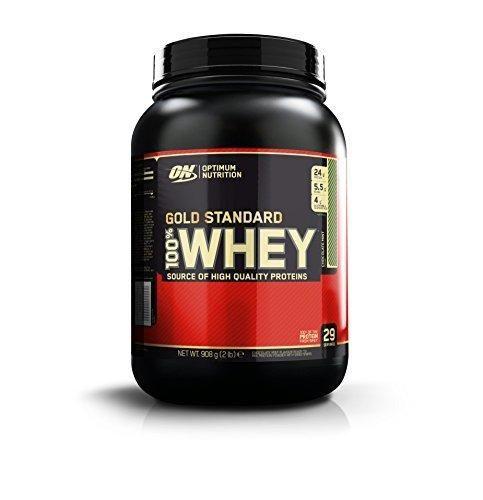 Optimum Nutrition Gold Standard 100% Whey Protein Powder Chocolate Mint 2 Pound