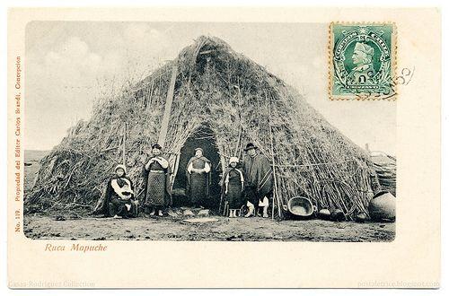 Ruca Mapuche (1903).