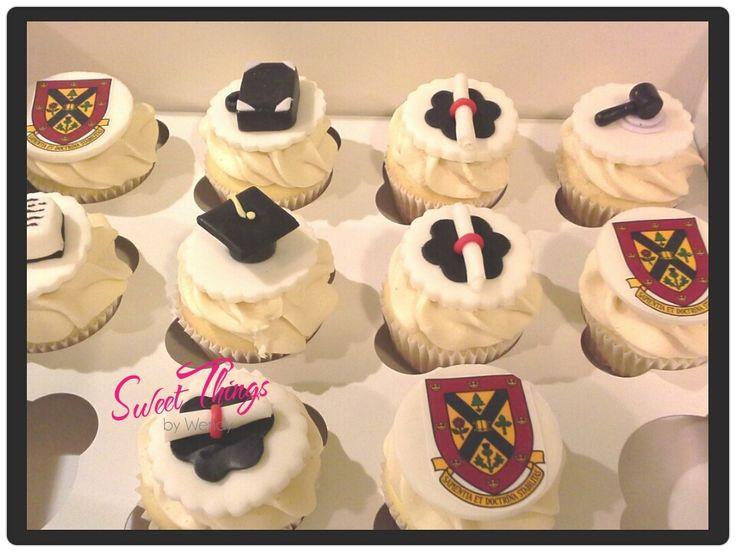 Law school graduation cupcake toppers   sweetthingsbywendy.ca