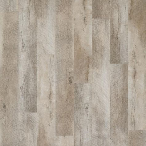 Seaport luxury vinyl plank brings the look of salvaged and salt-worn hickory to life. This floor