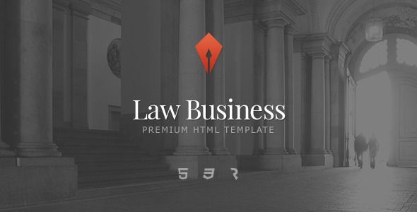 Law Business – Attorney & Lawyer HTML5 Template    –      #attorney #business #c…