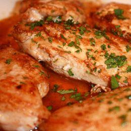 Basic Sauteed Chicken - yum!