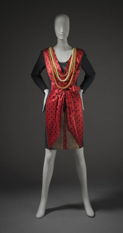 Dress, Franco Moschino, 1989, The Los Angeles County Museum of Art