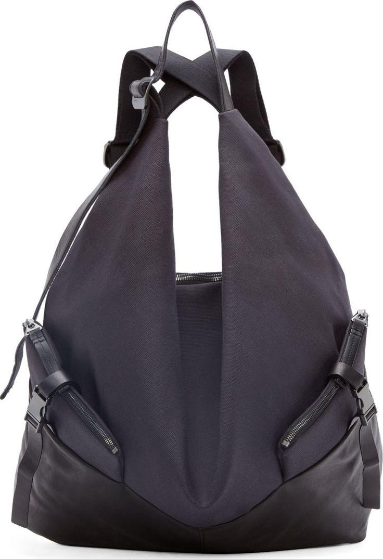 Côte & Ciel Black Ganges M Alias Backpack