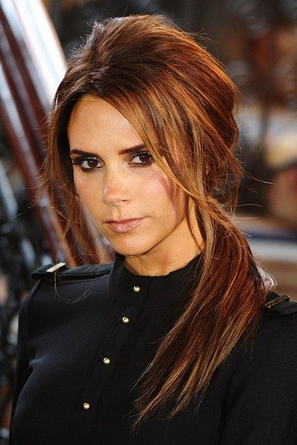 Victoria Beckham Hair - Love the color!