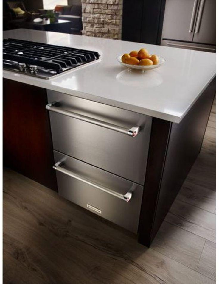 Kudr204esb by kitchenaid drawer refrigerators