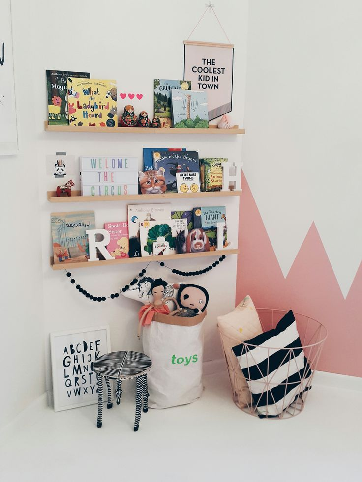 cute corner for a kids room...