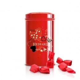 Romance, Anniversary  Valentine : Valentine - Enchanting Strawberry Sweet - Metal box