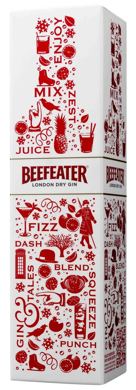 #beefeater #gin #holiday #packaging #trend