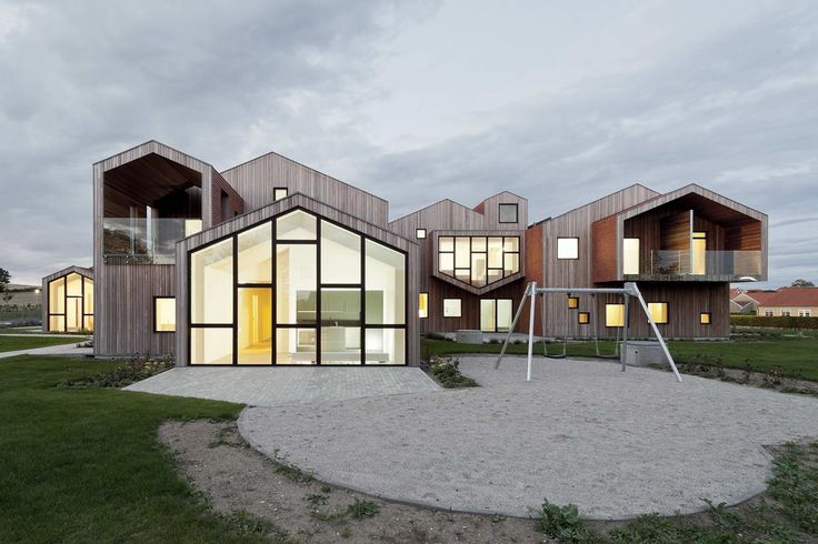 Детский дом будущего в Дании