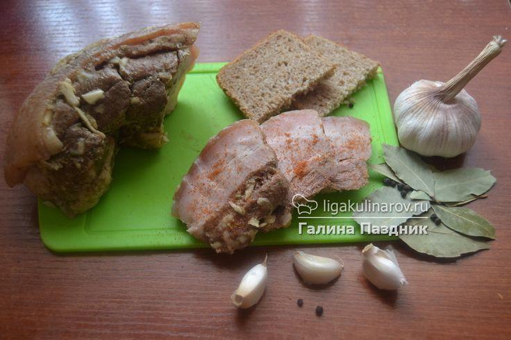 Главное фото рецепта: Свиная грудинка в пакете