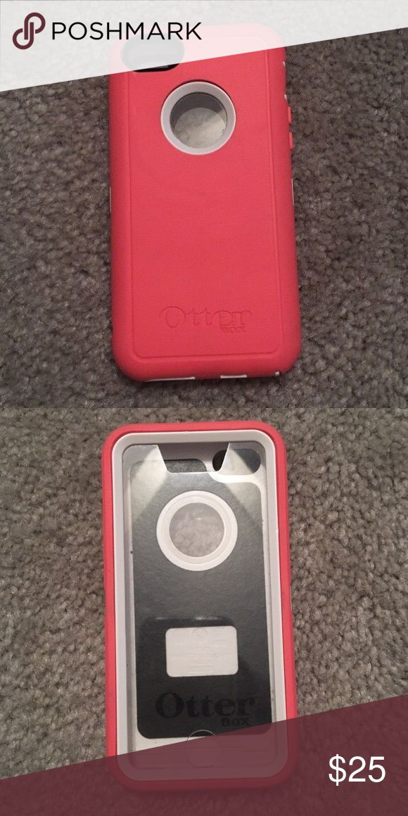 iPhone 5c otterbox case iPhone 5c pink otterbox case in great condition OtterBox Accessories Phone Cases