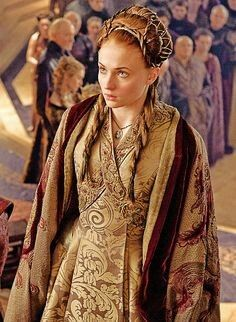 Game of Thrones- The wedding of Lord Tyrion Lannister and Lady Sansa Stark in the Sept of The Red Keep at Kings Landing.