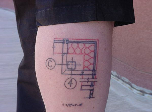 39 best architects with tattoos images on pinterest tattoo ideas tattoos in architecture life as interns malvernweather Choice Image