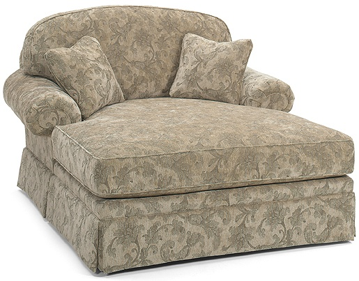 White orchard home furniture fall upholstery sale up to for Chaise and a half lounge