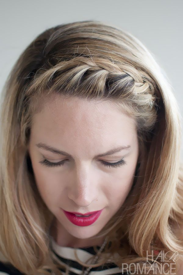 How+to+Do+Side+Corn+Rows | Hair Inspirations: Pretty French Braided Fringe/Bangs – Hair Trends ...