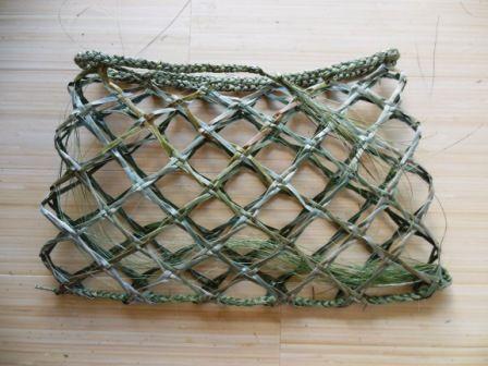Flax Weaving - Kete - Kupenga Knot