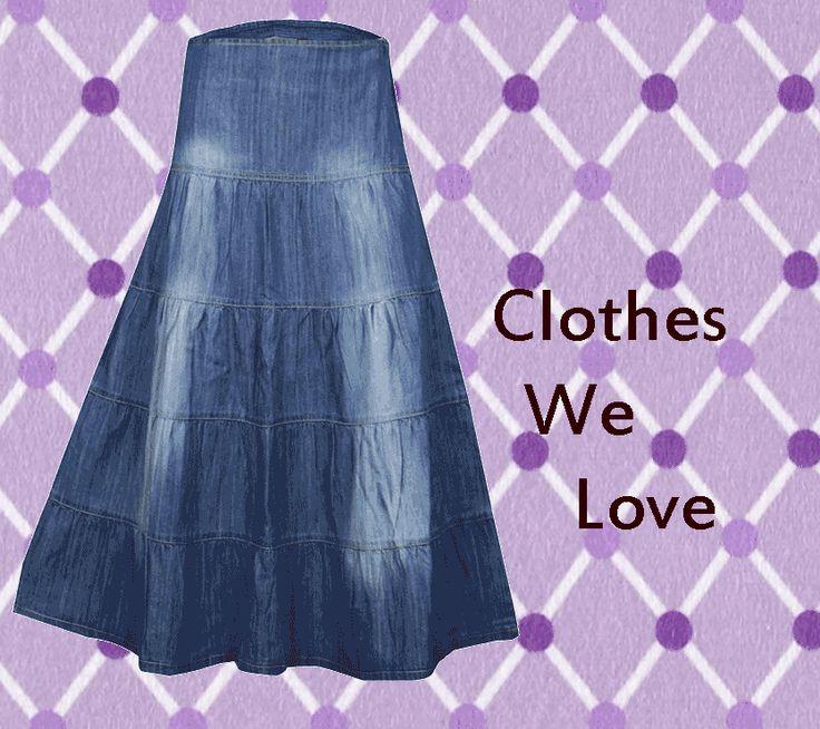 Best 10  Denim skirts online ideas on Pinterest   Buy skirts ...