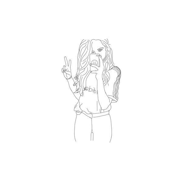 Line Art We Heart It : Best grunge line drawing art images on pinterest