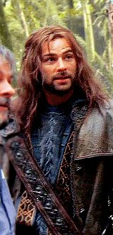 Kili, you're such an adorable dork it's not fair really.