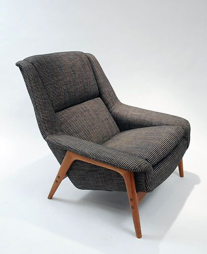 vintage lounge chair Folk Ohlsson Danish modern